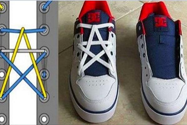 Cách buộc dây giày đẹp. bắt mắt