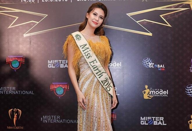 Hoa hậu trái đất 2015