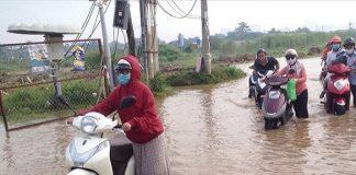 TPHCM ngập lụt trong diện rộng