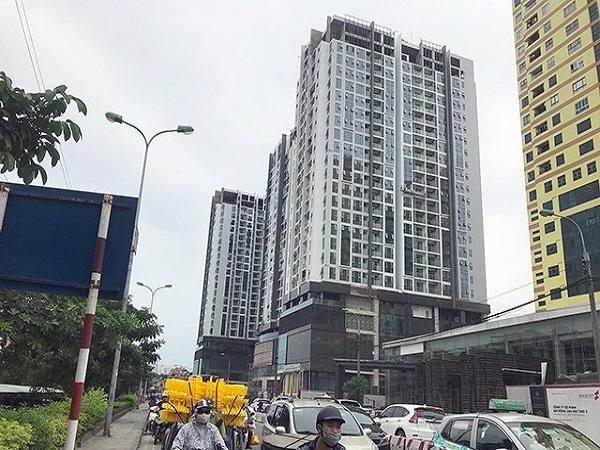 3 tòa nhà cao tầng ở Hà Nội bị nghiêng sau động đất