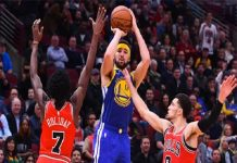 Klay Thompson lập kỷ lục ở NBA