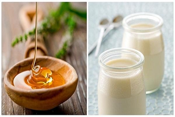 Mặt nạ dưỡng ẩm từ mật ong và sữa chua