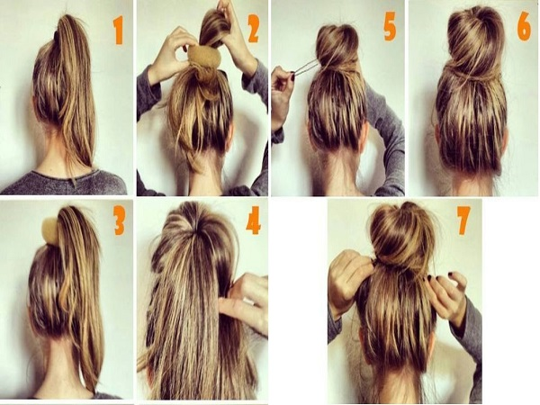 Cách búi tóc đẹp kiểu vặn thừng