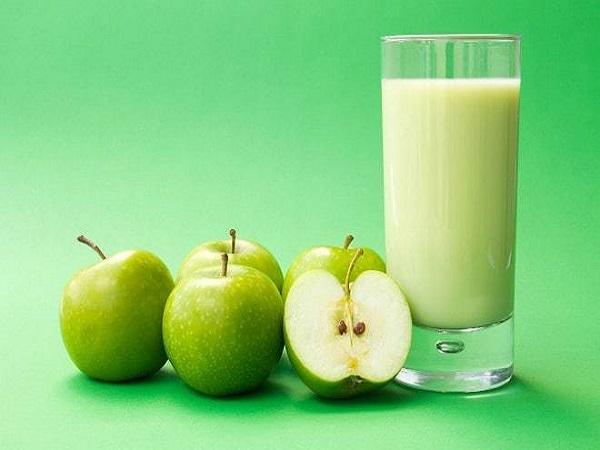 Nước ép giảm cân từ táo