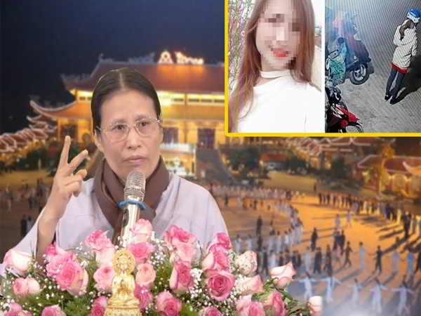 Cô Yến gây phẫn nộ với phát ngôn về nữ sinh giao gà trong buổi giảng ở chùa Ba Vàng
