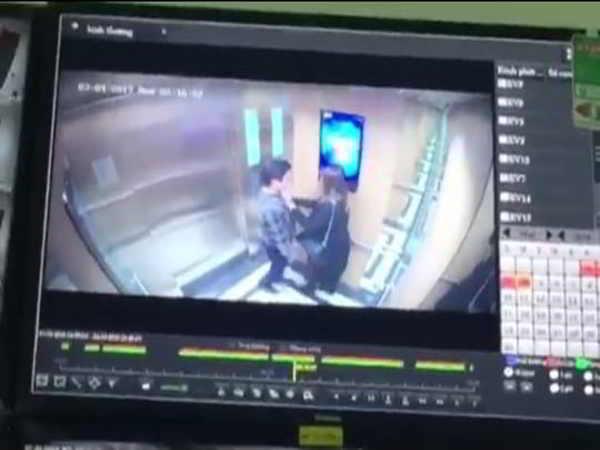Yêu râu xanh cưỡng hôn cô gái trong thang máy không ra trình diện công an