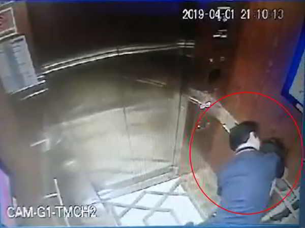Kẻ cưỡng hôn, sàm sỡ bé gái trong thang máy đã rời khỏi Sài Gòn