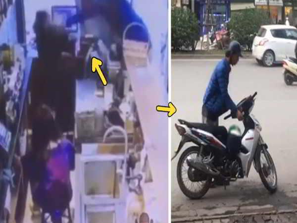 Nam thanh niên cầm gạch đập vào đầu 2 nữ nhân viên bán trà sữa ở Hà Nội