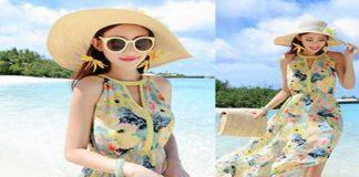 Các mẫu váy đi biển không thể thiếu trong tủ đồ mùa hè