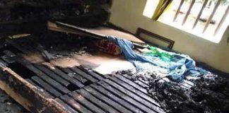 Bắt giữ người phụ nữ tẩm xăng đốt mẹ ruột ở Hà Nam