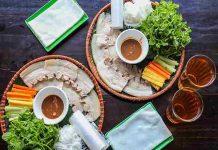 Các công thức làm bánh tráng cuốn thơm ngon miễn bàn