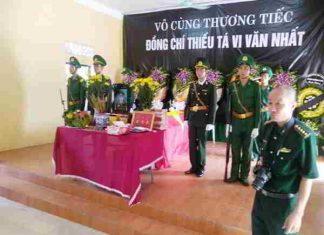 Một thiếu tá biên phòng hy sinh khi truy bắt tội phạm ma túy