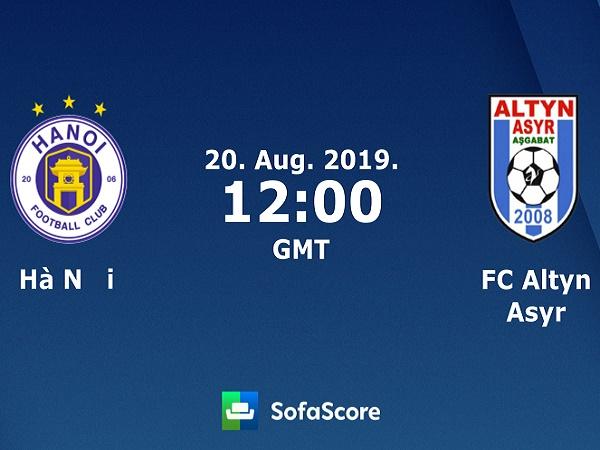 Nhận định Hà Nội FC vs Altyn Asyr, 19h00 ngày 20/08