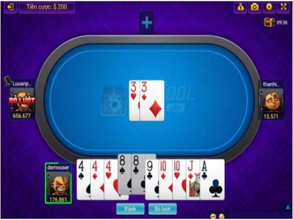 Tìm hiểu luật chơi đặc biệt trong game sâm lốc bigkool