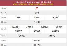 Dự đoán XSST 23/9/2020 chốt lô VIP Sóc Trăng thứ 4