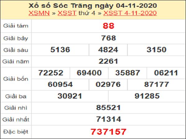 Dự đoán XSST ngày 11/11/2020- xổ số sóc trăng