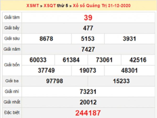 Tổng hợp dự đoán KQXSQT ngày 07/01/2021- xổ số quảng trị