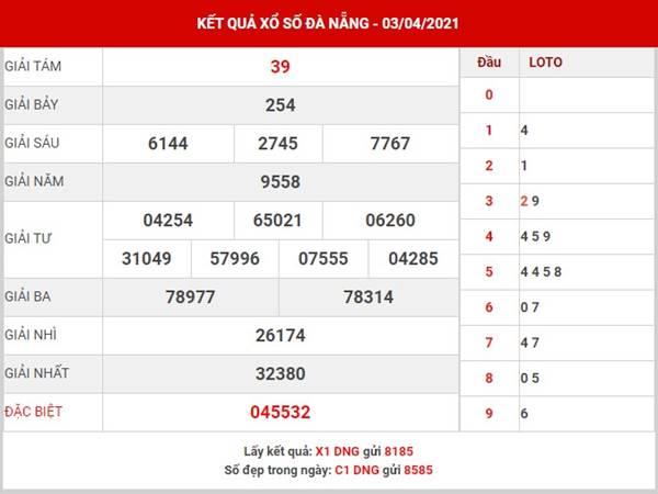 Dự đoán xổ số Đà Nẵng thứ 4 ngày 7/4/2021