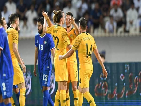 Nhận định kèo Châu Á Australia vs Kuwait (2h00 ngày 4/6)